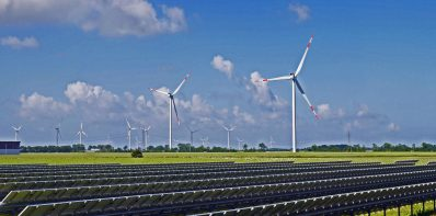 Odnawialne Źródła Energii - wiatraki i panele fotowoltaiczne