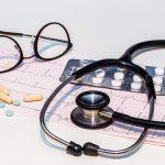 Wyniki EKG i stetoskop